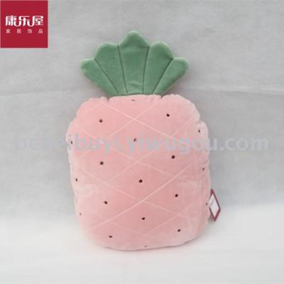 Recreation room home furnishings novelty toy stretch super soft pillow fruit pineapple pillow.