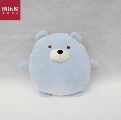 Recreation room home cloth art novel toys elastic super soft pillow bear hug pillow daily provisions
