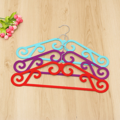 high-grade flocking non slip hanger magic hanger seamless hanger