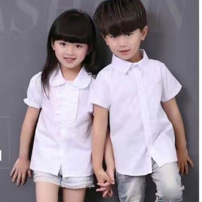 Sweet red trade red mud rabbit children's clothing students installed white short-sleeved men and women shirt