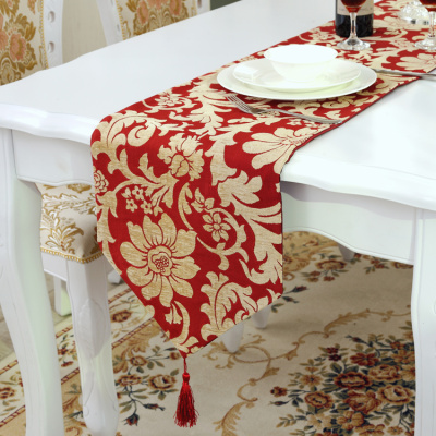 New - style chenille upscale table flag cloth art tea table European key-2 luxury foreign trade export table cloth table cloth table.