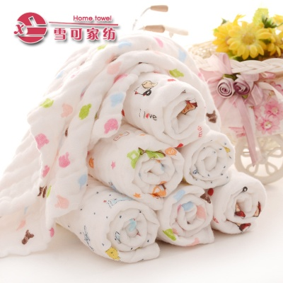 6 layers of gauze kerchief cotton Baby face cloth