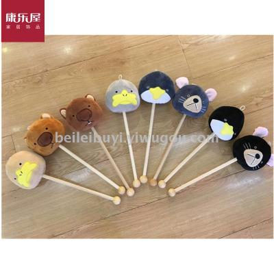 Recreation house home furnishing cloth art cute series percussion bar novelty toys.