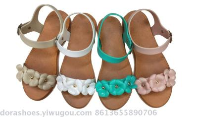 Flowers, accessories, multi-color, optional new, non slip home slippers