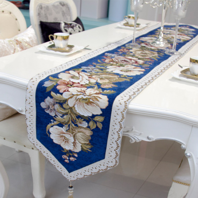 European table flag luxury dining table flag living room tea table flag national wind can be customized.