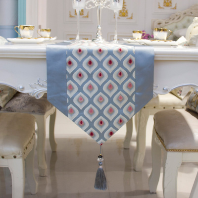 Modern Nordic style bright piece table flag fashionable simple tea table cloth table can be customized.