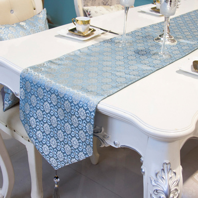 Modern simple garden table flag bed flag bed curtain table tea table table flag table mat can be customized.
