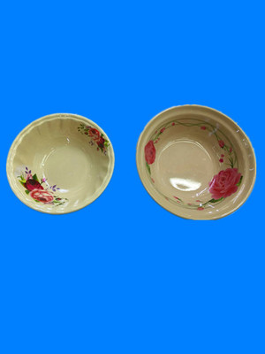 Melamine decal bowls are now in stock