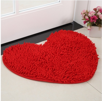 Chenille floor mat bathroom mat bathroom door suction pad custom hall door bedroom kitchen floor mat.