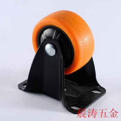 Uniaxial TPU medium Orange Michelin 30 series specifications (tread) casters