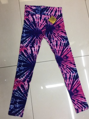 Colored milk silk leggings trousers for women's trousers.