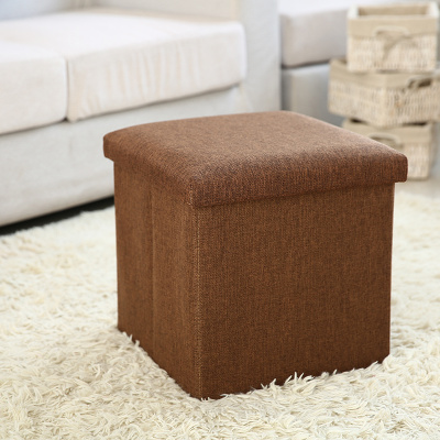 Factory direct stool new linen dress shoe storage bench shoe bench