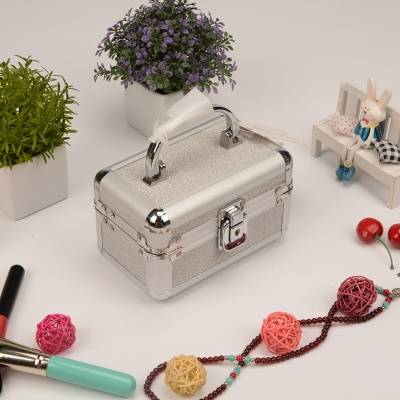 Crown mini notebook aluminium jewellery storage box portable multifunctional storage jewelry box customized