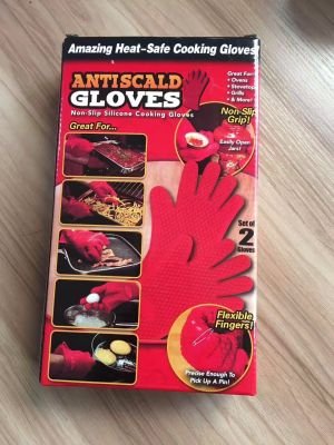 Anti-burn food heat-proof gloves.