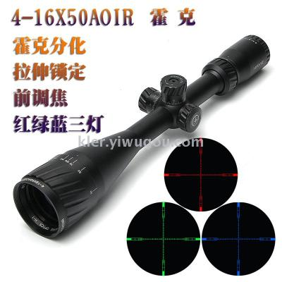 4-16X50AOE seismic differentiation of cross keys of HD night vision sight