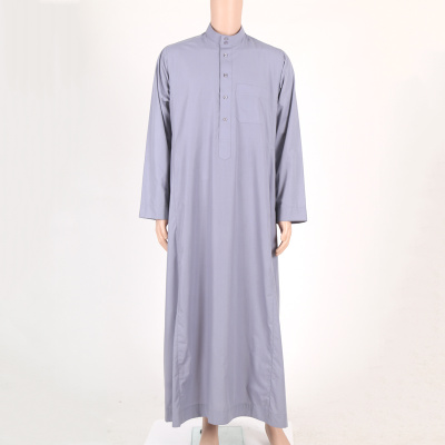 Arab men 's clothing islamic dress Muslim button - down robes