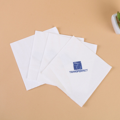 Manufacturer's direct selling double-layer tissue paper napkin 25*25.