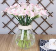 Manufacturer direct Pu Mini Horse Shoe simulation flower multi color high-grade simulation flower