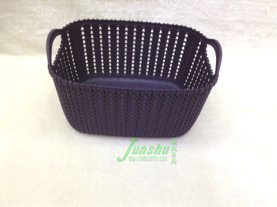 Woven basket PP material receiving basket used to collect baskets of European inductive baskets
