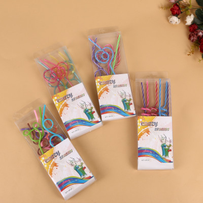 Three-dimensional creative straw can be used for straw drinking straw drinking straw personality plastic straw.