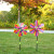 The New large flowers and the plants windmill decorative windmill photography props is suing toys novelty toys