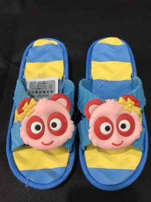 A flip - slipper massage bottom double bottom x - slipper inventory processing STOCK of STOCK children's shoes