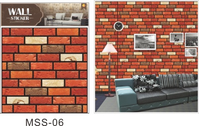 3D decorative wall stickers.