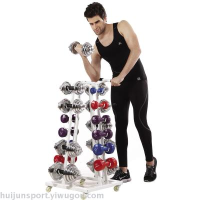 HJ-A068 Dumbbell Rack Trolley fitnees
