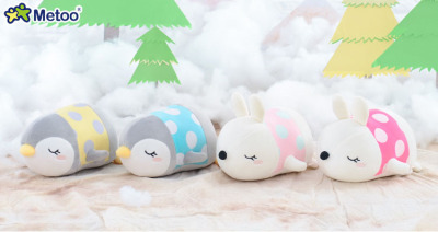 2018 New Design Mini Cute Plush Animal Lying Toy For Claw Machine  In Stock