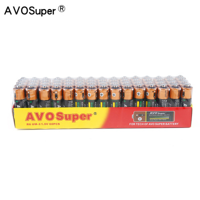 Manufacturers special sales AVOsuper5 toy batteries AA zinc manganese batteries
