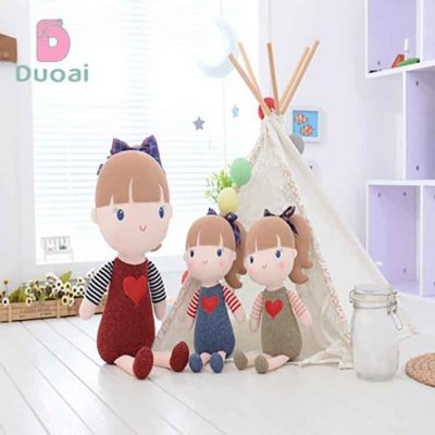 Unique Design Beautiful Animated Doll Plush Humanoid Girl Toy