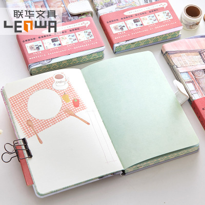 Supply Lianhua A5 Hardcover Hard Copy Notebook Creative Magnetic