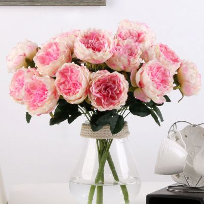 High grade simulation flowers 7 flowers the bouquet of roses forever flowers.