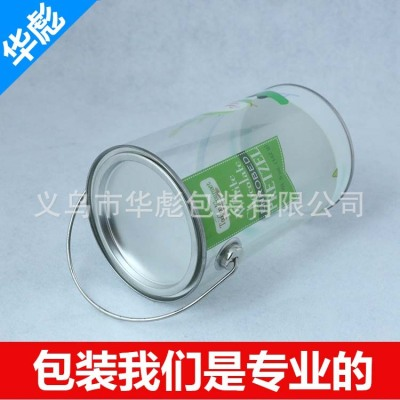 Manufacturer direct selling PVC tinplate PET hand cylinder