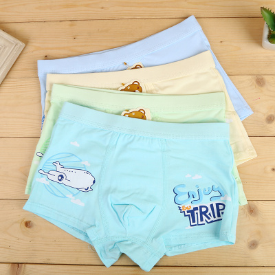 Casual style children's light cotton boxers