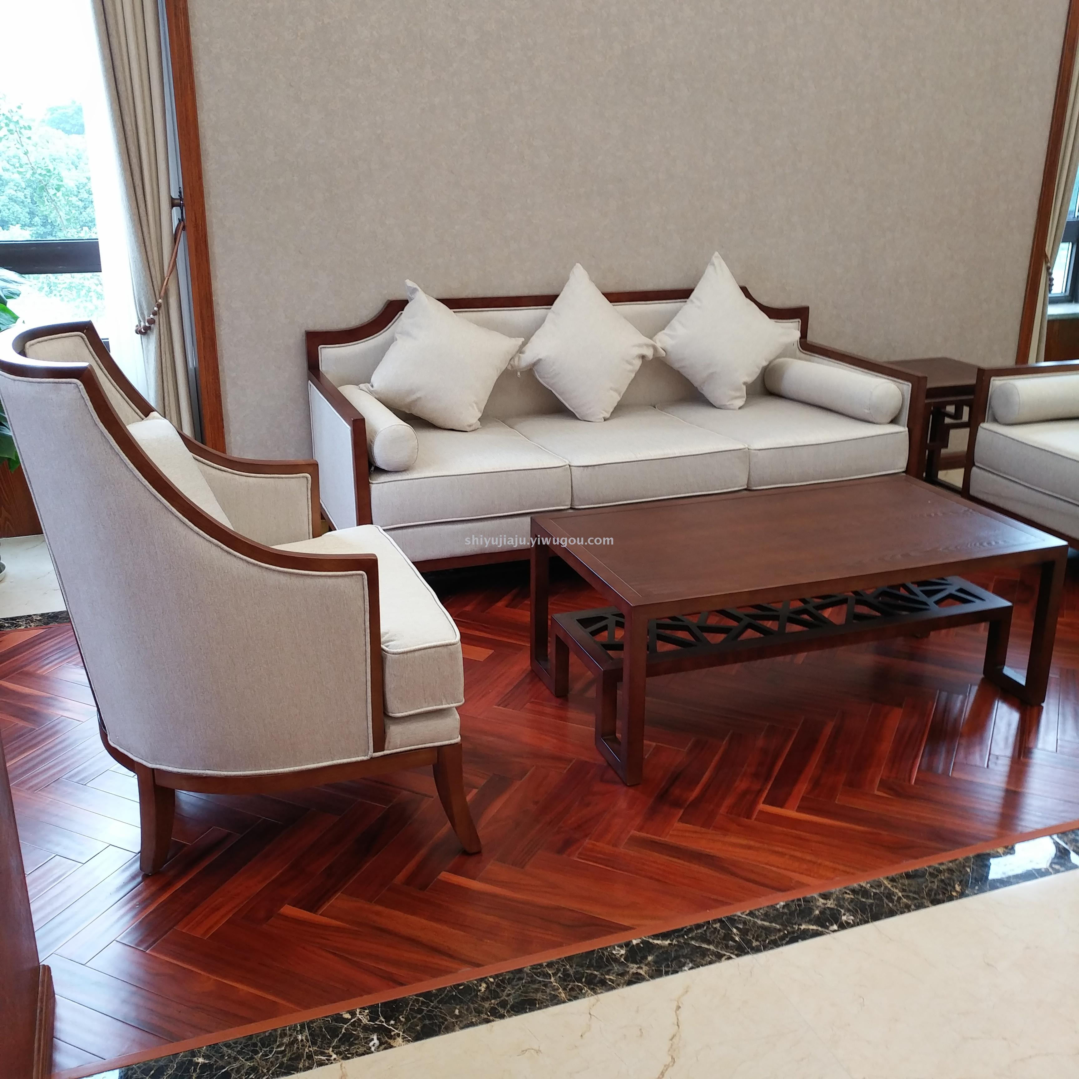 Supply Shanghai Hotel Project New Chinese Style Furniture Custom