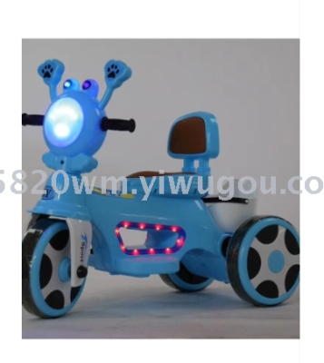 Shining toy  baby products MIKEE novelty toy electric tricycle