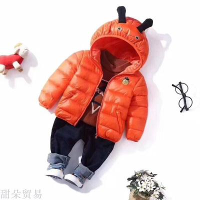 Red mud rabbit 2018 maggi autumn/winter girl cartoon beetle warm cotton 5 color 5 size