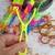 Small slingshot flying arrow umbrella flying toys children's stalls wechat business gifts glitter