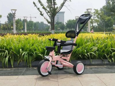 Tricycle umbrella car pedaling cart child tricycle baby toys toy hardware tools