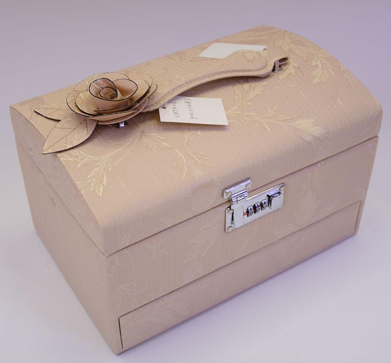 Supply Continental Princess Jewelry Box Wooden Wedding Gift High Grade Makeup Large Storage Bo