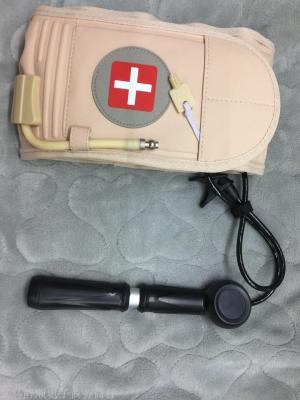 Lumbar fixation massage belt