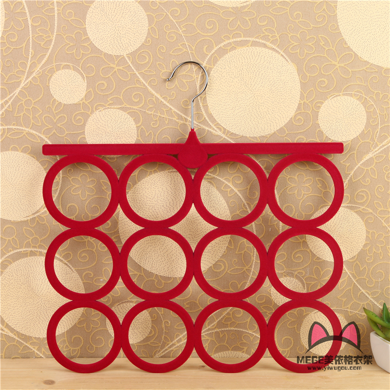 Image result for flocking scarf rack hangers