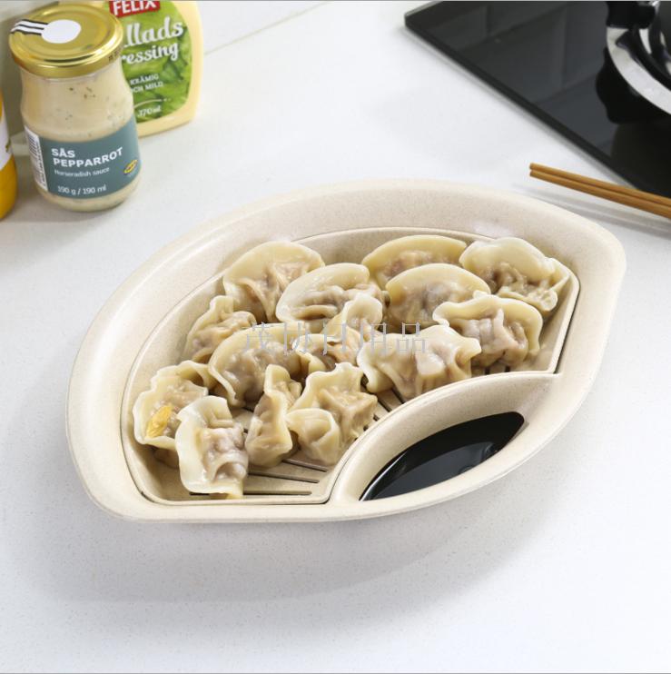 Supply Kitchen supplies plastic dumplings plate Japanese ...
