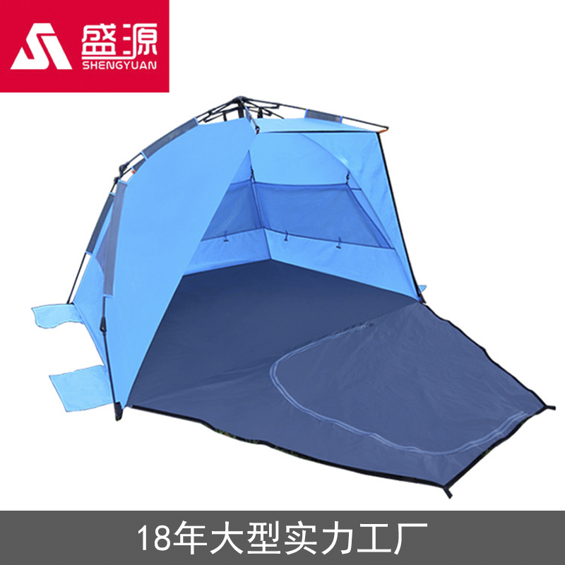 Shengyuan New Fully Enclosed Beach Fishing Automatic Tent Outdoor Multi Functional Camp
