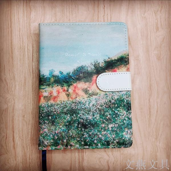 Supply Pu Leather Oil Painting Cover Hand Account Book Creative