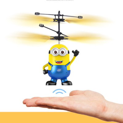 Miniaturized miniaturized remote control helicopter hovering chattering children toy boy