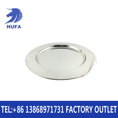 Stainless steel flat plate polished stainless steel plate without ear circular mirror plate