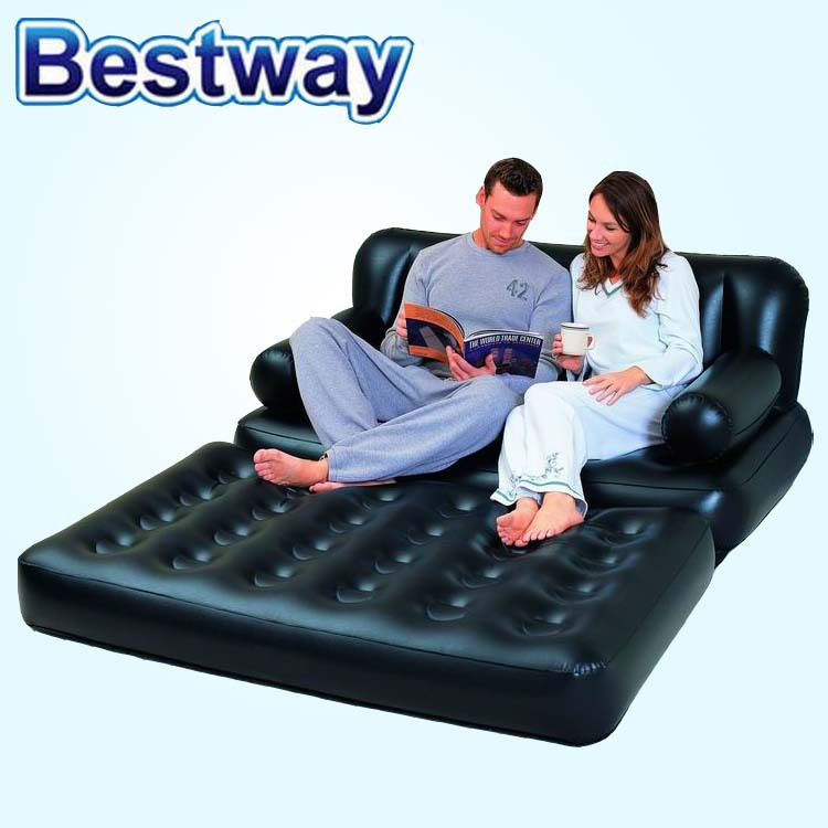 Astounding Supply Bestway 75054 Air Filled Sofa Double Thick Deck Chair Pabps2019 Chair Design Images Pabps2019Com