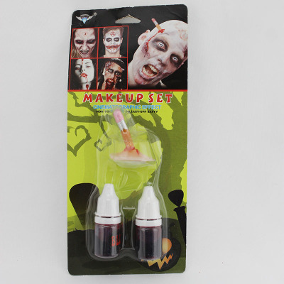 Fake cigarette ends for Halloween face mask suits